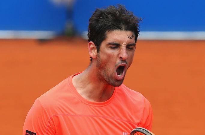 Bellucci comemora vitória no Masters 1000 de Madri (Foto: Getty Images/ATP)
