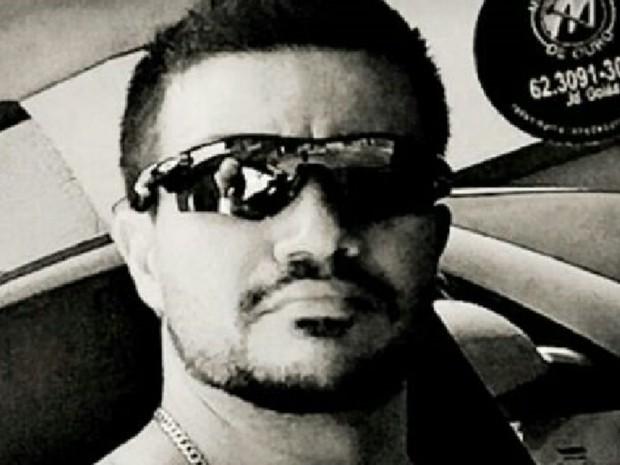 Oscar Charife Abraão Garcia morreu em confronto com criminosos em Goiânia (Foto: Reprodução/WhatsApp)