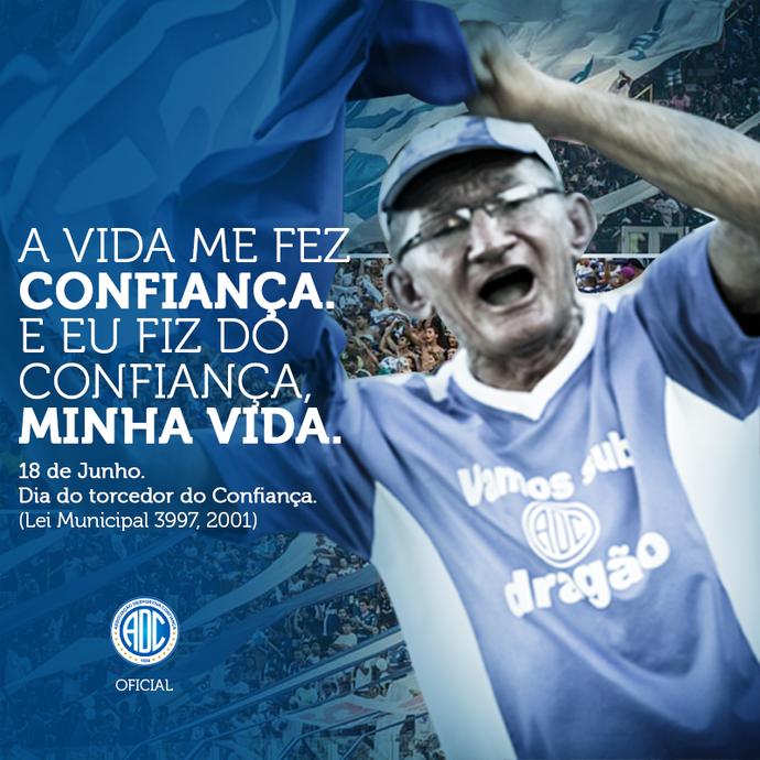 Dia do torcedor do Confiança (Foto: Divulgação/ADC)