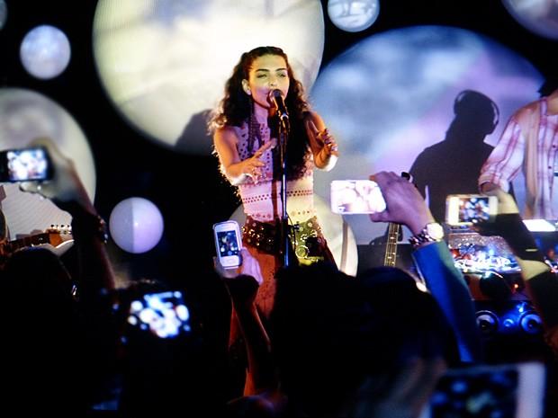 Banda faz enorme sucesso durante o festival (Foto: Geração Brasil / TV Globo)