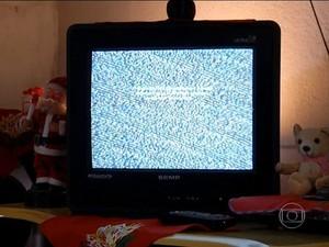 TV digital jornal hoje (Foto: TV Globo)