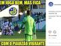 Piauí alfineta River-PI e apimenta pós- clássico com postagem polêmica; veja
