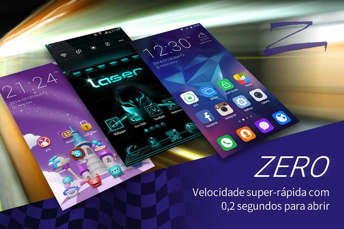 ZERO Launcher é uma ótima opção de launcher para Android (Foto: Dovulgação)
