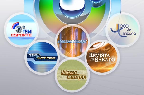 Mosaico Programação TV TEM Todos (Foto: Arte/TVTEM)