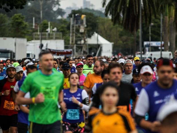 Maratona de São Paulo (Foto: Rafael Arbex/Estadão Conteúdo)