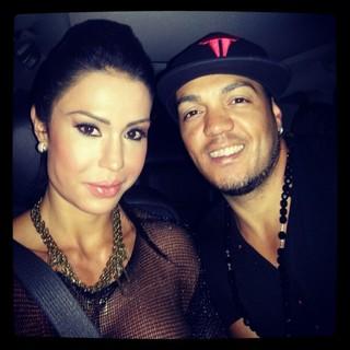 Gracyanne Barbosa e o marido, Belo (Foto: Instagram/ Reprodução)