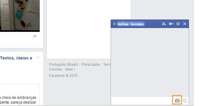 Abra o chat com seu amigo do Facebook (Foto: Reprodução/Barbara Mannara)