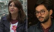 Vítimas de homofobia leem comentários homofóbicos (Wagner Santos/G1)