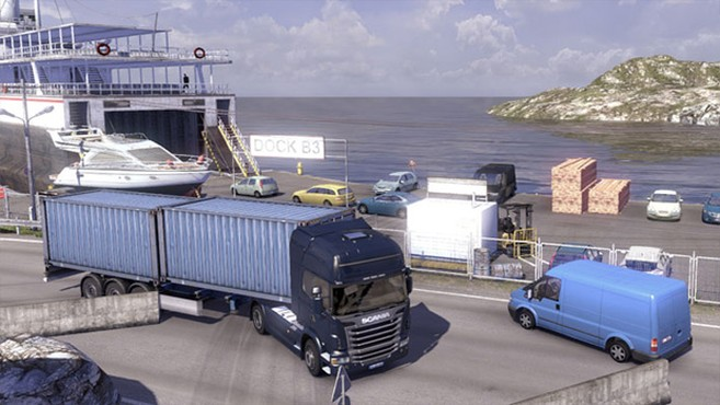 screenshot de Scania Truck Driving Simulator