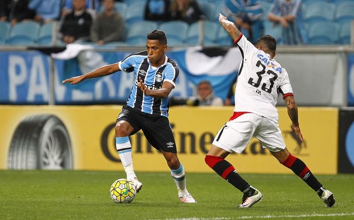 GrÊmio x Atlético-PR, pela Copa do Brasil na Arena (Foto: Lucas Uebel / Grêmio, DVG)