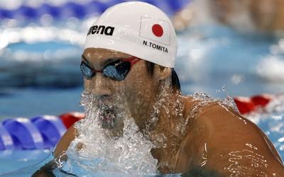 Naoya Tomita natação Japão (Foto: Reuters)