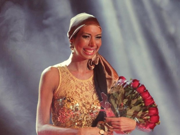 Aline Wega foi eleita Miss Campinas em 2004 e superou duas vezes o câncer (Foto: Arquivo Pessoal/ Aline Wega)