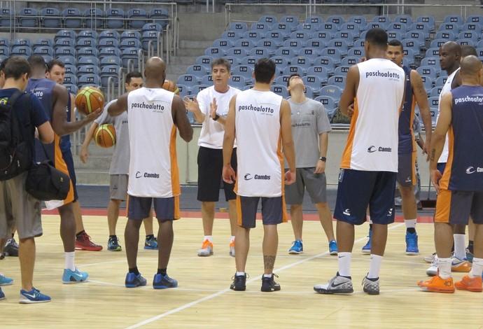 treino, Bauru, basquete (Foto: Thales Soares)