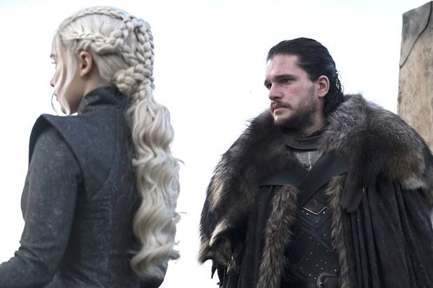 Jon Snow e Daenerys Targaryen: mais um incesto na série (Foto: Divulgação)