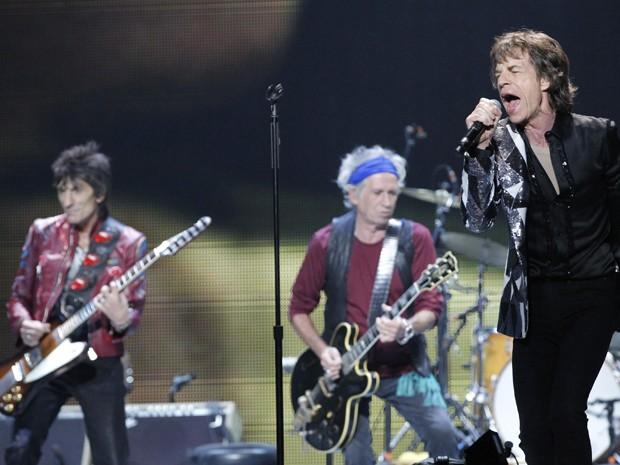 Rolling Stones se apresentam em Los Angeles (Foto: Mario Anzuoni/Reuters)