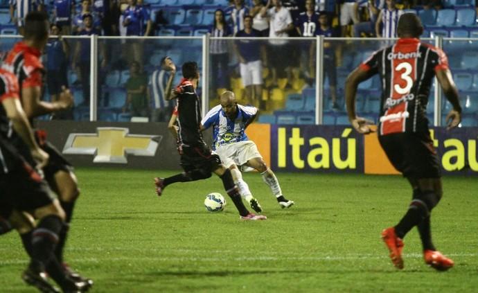 Romário Avaí x Joinville (Foto: Jamira Furlani/Avaí FC)