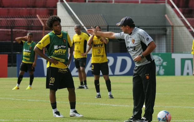 rithely marcelo martelotte sport (Foto: Aldo Carneiro / Pernambuco Press)