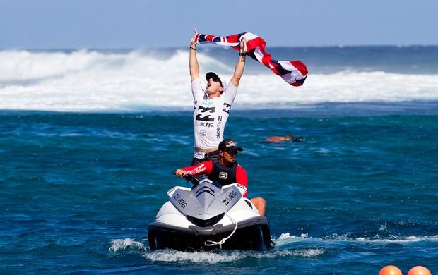Andy Irons é campeão em Teahupoo (Foto: ASP)