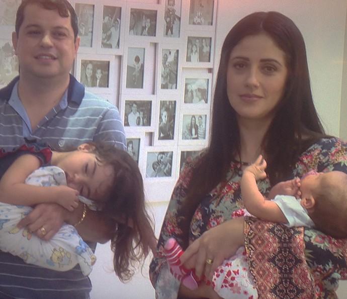 Acompanhe a rotina da família Valsirolli aqui no Encontro (Foto: TV Globo)