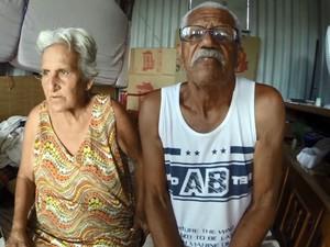 Casal de Hortolândia se muda para um conteiner em Campinas (Foto: Reprodução EPTV)