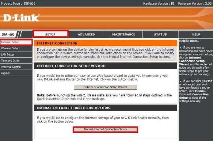 Configurando um IP estático no DIR-600 (Foto: Reprodução/D-Link) (Foto: Configurando um IP estático no DIR-600 (Foto: Reprodução/D-Link))