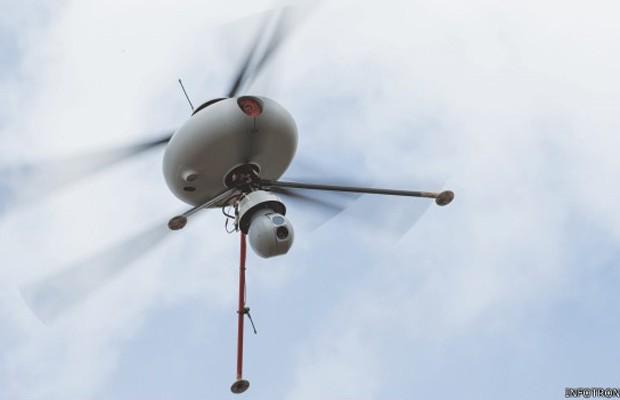 Autoridades ainda enfrentam problemas com a regulamentação do voo com drones em áreas urbanas (Foto: Infotron)