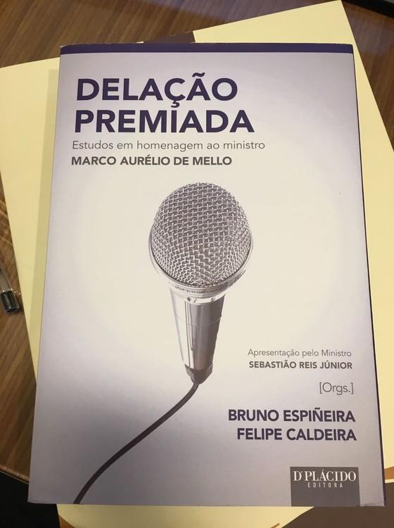 Novo advogado do doleiro Lúcio Funaro escreveu livro sobre delação premiada (Foto: Reprodução )