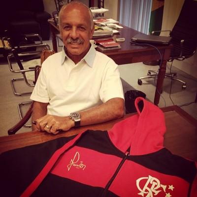 camisa Junior Flamengo (Foto: Reprodução / Instagram)