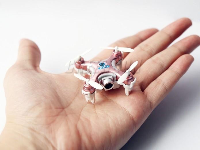 Drones ainda contam com autonomia de bateria muito baixa (Foto: Divulgação/Cheerson)