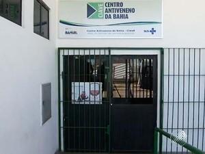 Centro Anti Veneno, em Salvador (Foto: Imagens/ Tv Bahia)