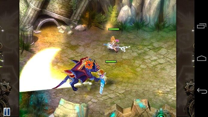 Game de RPG com ótimos gráficos e jogabilidade offline (Foto: Reprodução / Dario Coutinho)