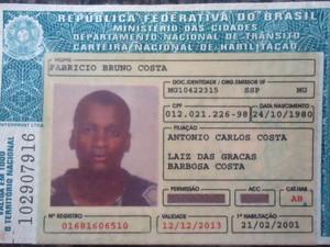 Fabrício Bruno Costa era natural de Minas Gerais (Foto: Alexandre Cunha)