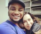 Danilo de Moura e Márcia Cabrita farão 'Meu amigo encosto'   Divulgação