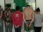 Polícia prende 12 suspeitos de tráfico de drogas em municípios da Serra