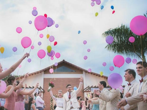 Festa de casamento foi registrada por internauta no Acre  (Foto: Sérgio Filho/Arquivo pessoal )