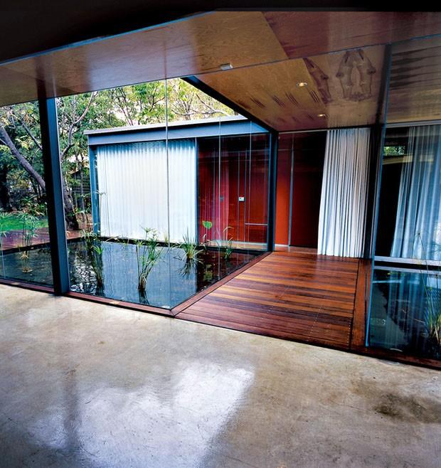 Uma casa para dois irm os casa vogue arquitetura - Cemento pulido exterior ...