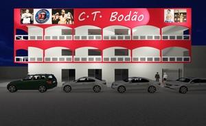 Fachada do CT Bodão, projeto elaborado pelo lutador do UFC para a capital do Acre (Foto: Francimar Barroso/Divulgação)