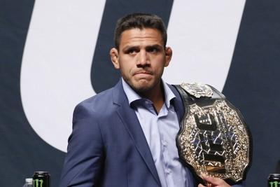 Rafael dos Anjos Coletiva Go Big UFC (Foto: Evelyn Rodrigues)