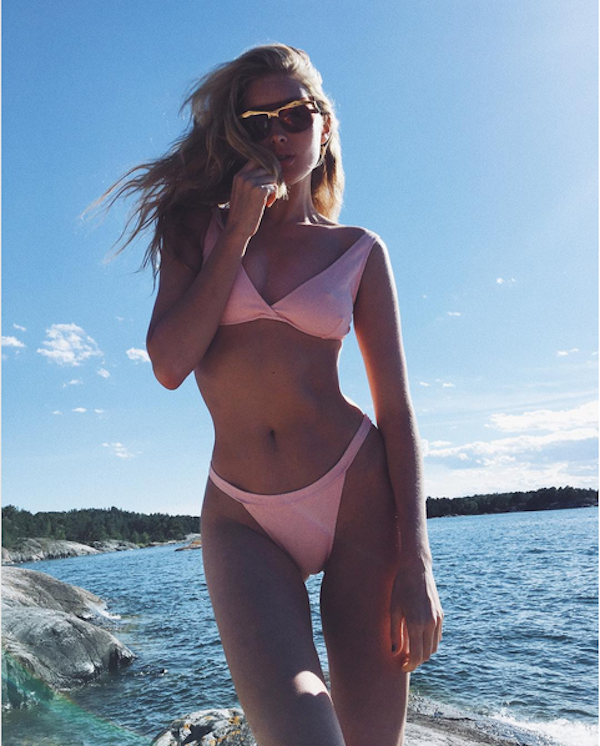A modelo sueca Elsa Hosk (Foto: Instagram)