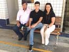 Após 4 anos, vítima de atropelamento homenageia equipe de resgate
