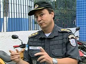 Dayzer foi preso (Foto: Reprodução/TV Globo)