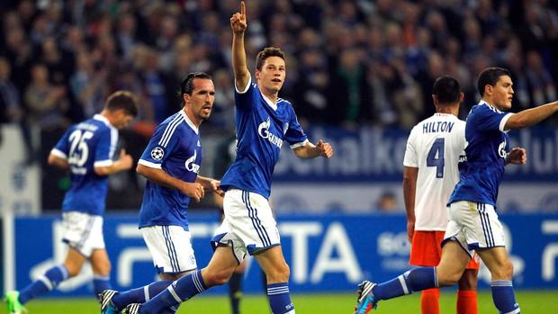 Montpellier x Schalke, Draxler (Foto: Agência Reuters)