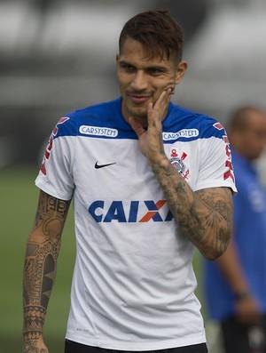 Paolo Guerrero Corinthians (Foto: Daniel Augusto Jr/Ag. Corinthians)
