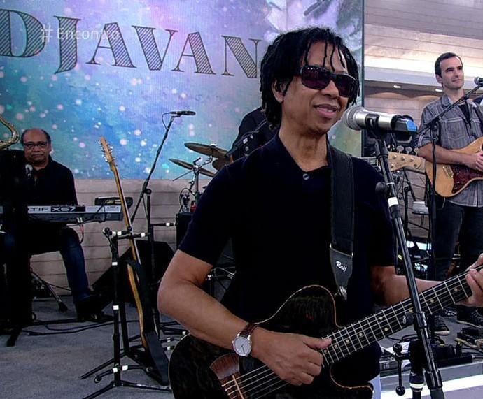 Djavan participa do 'Encontro' desta quarta, 6/4 (Foto: TV Globo)