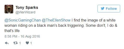 Ellen DeGeneres é criticada por comentário  (Foto: Reprodução / Twitter)