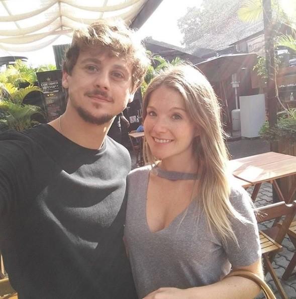 Rafael Canedo e a noiva (Foto: Reprodução / Instagram)