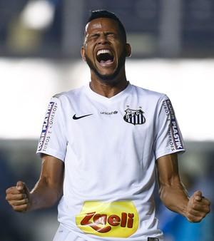 Geuvanio gol Santos (Foto: Ricardo Saibum / Ag. Estado)
