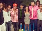 Filha de Romário relembra festa de  15 anos com Naldo e Neymar