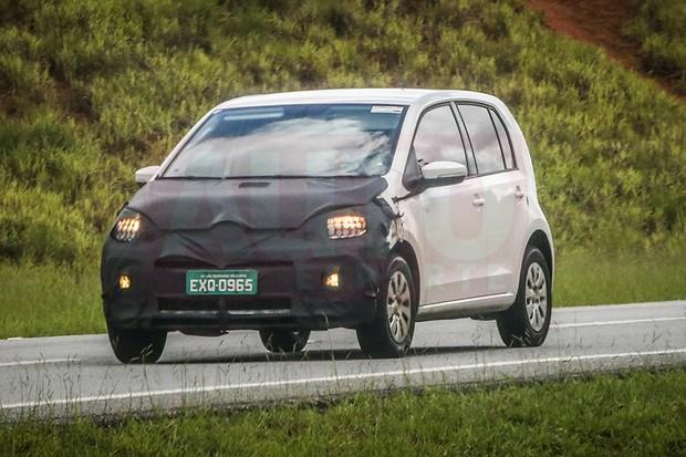 Novidades da Volkswagen flagradas em testes (Foto: Autoesporte)