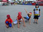 Em matinê, crianças apostam em fantasias de super-heróis no AC